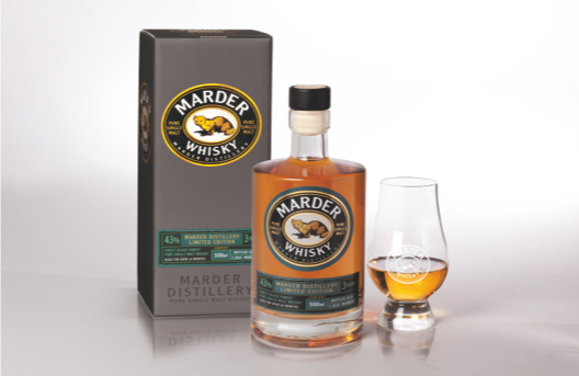 Marder Single Malt Whisky - 2016